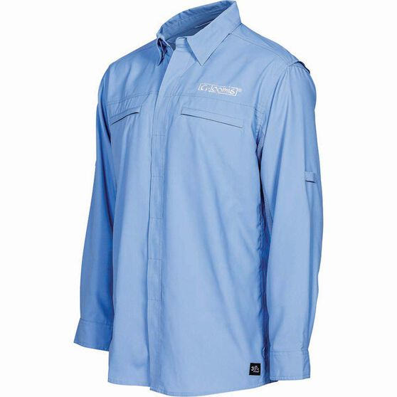 G.Loomis Men's Long Sleeve Fishing Shirt, Blue, bcf_hi-res