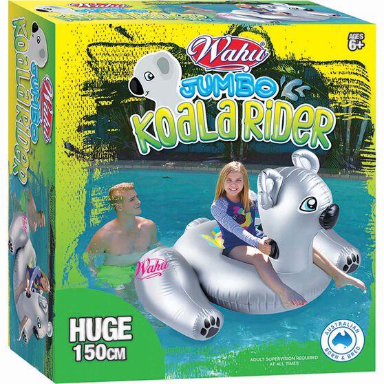 Wahu Inflatable Koala Rider, , bcf_hi-res