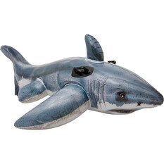 Intex Inflatable Realistic Ride On Great White Shark, , bcf_hi-res