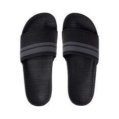Quiksilver Waterman Men's Rivi Slide Black / Grey 8, Black / Grey, bcf_hi-res