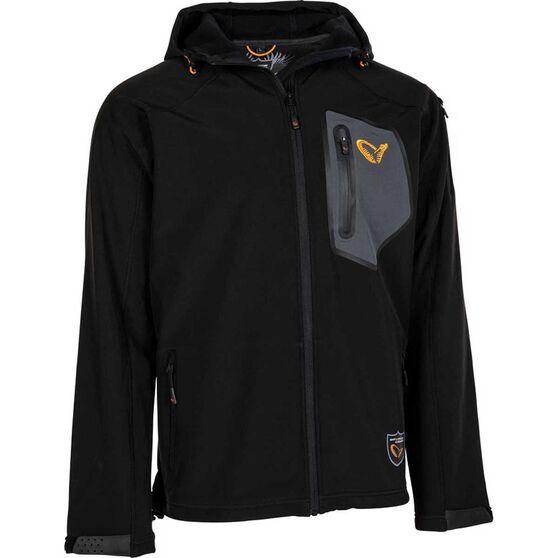 Savage Men's Trend Softshell Jacket, Black, bcf_hi-res