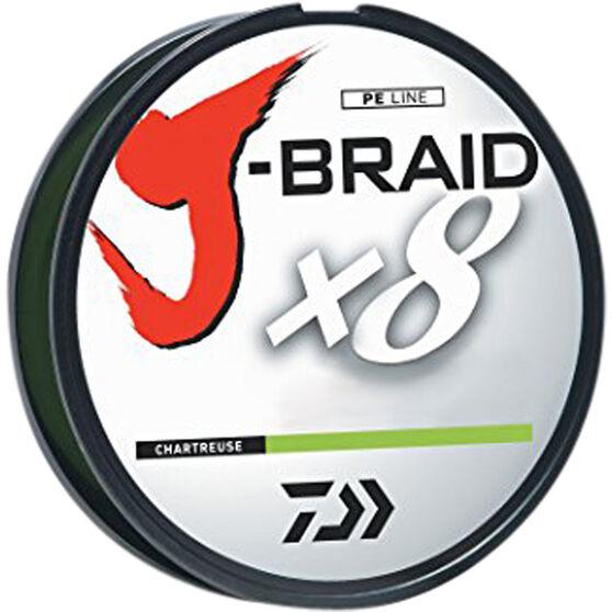 J-Braid Braid Line 300m 20lb Chartreuse 300m, , bcf_hi-res