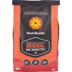 Heat Beads BBQ Briquettes Fuel 4kg, , bcf_hi-res
