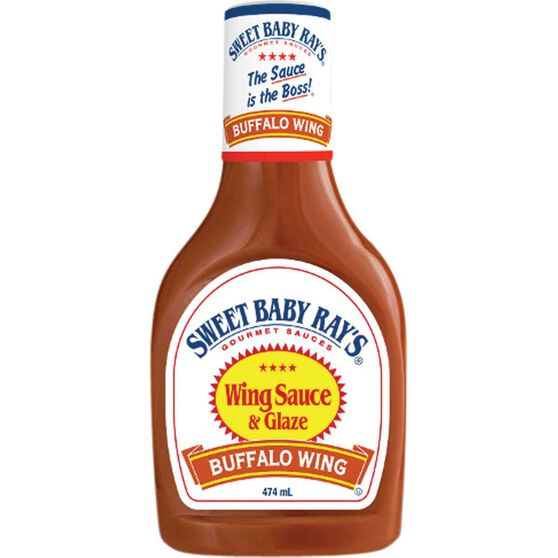 Hatcher Sweet Baby Ray's Buffalo Wing Sauce 474ml, , bcf_hi-res