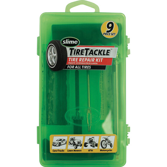 Slime Tyre Repair Kit - 9 Piece, , bcf_hi-res