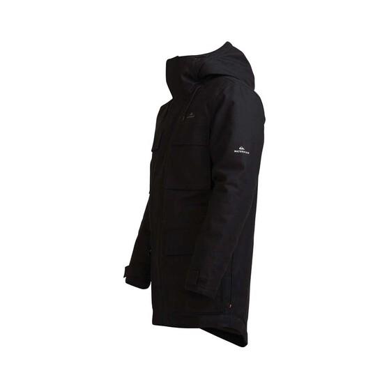 Quiksilver Men's Tidal Surge Jacket, Black, bcf_hi-res