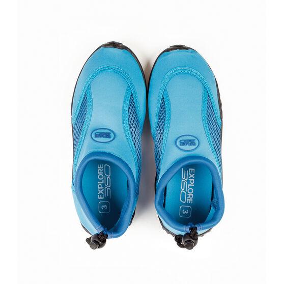 BCF Kids' Beachcomber II Aqua Shoes Blue K1, Blue, bcf_hi-res
