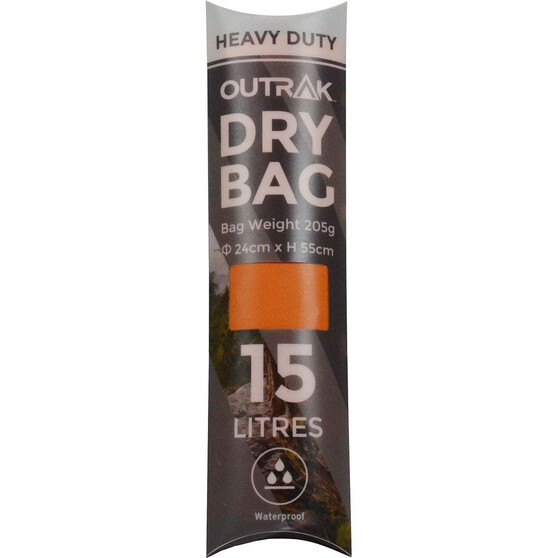 OUTRAK Heavy Duty 15L Dry Bag, , bcf_hi-res