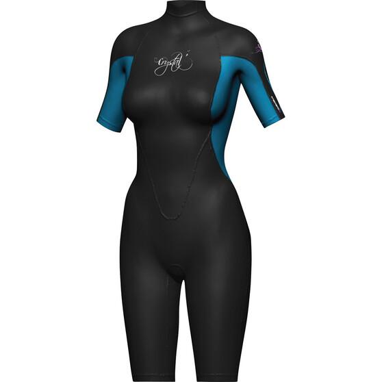 Mirage Women's Springsuit Wetsuit, Blue / Black, bcf_hi-res