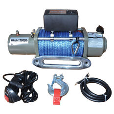 XTM 12V Recovery Winch, , bcf_hi-res