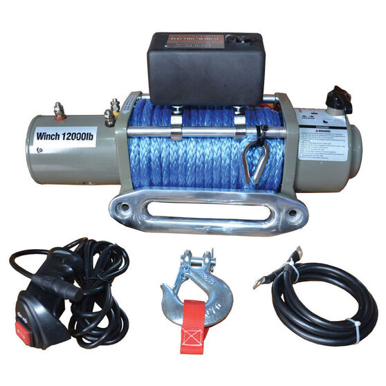 XTM 12V Recovery Winch