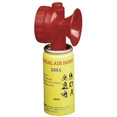 Safety Gas Horn with Cannister Small, , bcf_hi-res