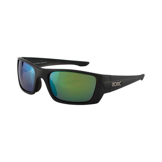 Tonic Men's Youranium Sunglasses Green Mirror / Matt Black, Green Mirror / Matt Black, bcf_hi-res