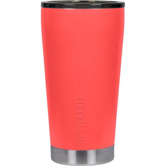 Fifty Fifty Insulated Tumbler 16oz Coral 16oz, Coral, bcf_hi-res