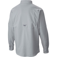 Columbia Men's Low Drag Offshore Long Sleeve Shirt Grey S, Grey, bcf_hi-res