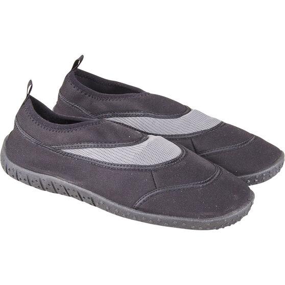 BCF Unisex Aqua Shoes Black 8, Black, bcf_hi-res