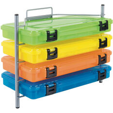Rogue Wire Tackle Box Rack 4 Tray, , bcf_hi-res