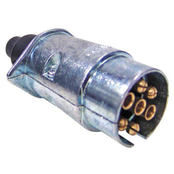 7 Pin Large Round Trailer Plug, , bcf_hi-res