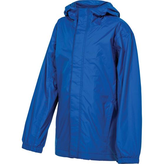OUTRAK Kids' Packaway Rain Jacket Blue 12, Blue, bcf_hi-res