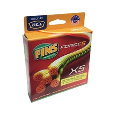 Fins Force 5 Yellow Braid Line 150yd 15lb, , bcf_hi-res