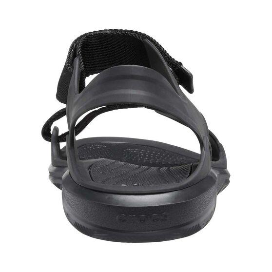 Crocs Men's Swiftwater Expedition Sandal, Black, bcf_hi-res