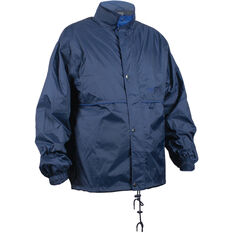 Team Unisex Stolite Original Rainwear Jacket Navy / Royal Blue S, Navy / Royal Blue, bcf_hi-res