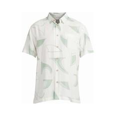 Quiksilver Men's Fin Drop Short Sleeve Shirt Harbour Grey S, Harbour Grey, bcf_hi-res