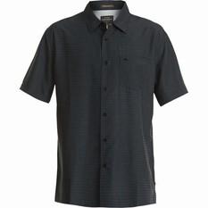 Quiksilver Men's Centinela 4 Regular Fit Shirt Black S Men's, Black, bcf_hi-res