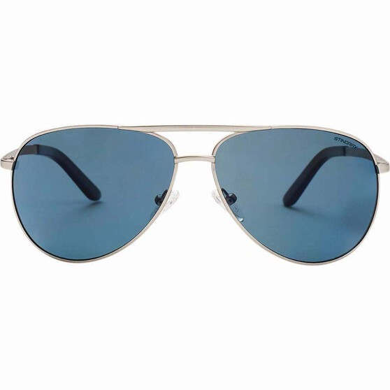 Stingray Men's Mahi Sunglasses Silver / Smoke Lens, Silver / Smoke Lens, bcf_hi-res