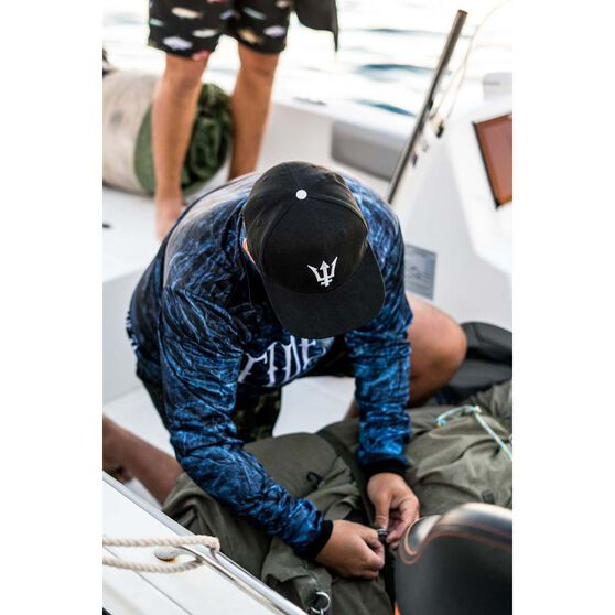 Tide Apparel Men's Shipwreck Sublimated Polo Blue S, Blue, bcf_hi-res