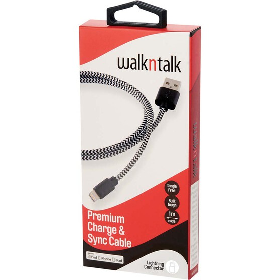 Walkntalk Lightning Charge and Sync Cable, , bcf_hi-res