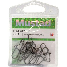 Mustad Duo Lock Snap, , bcf_hi-res