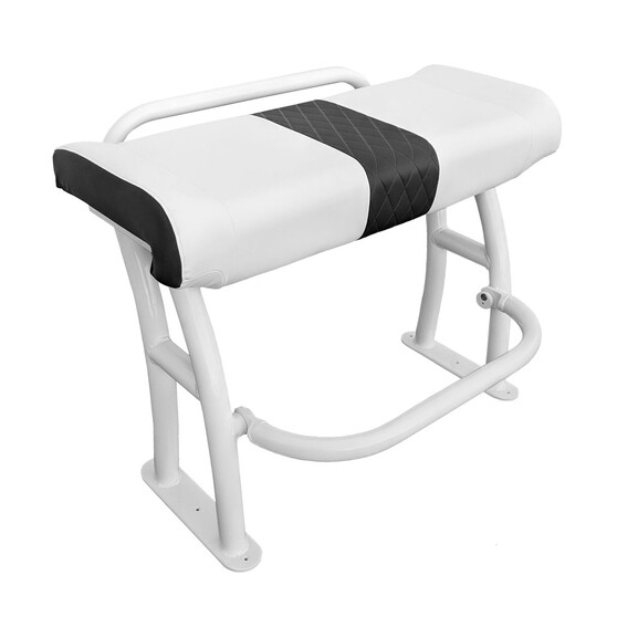 BEP White Leaning Post Seat, , bcf_hi-res