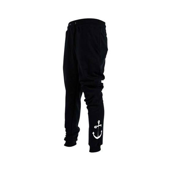 Tide Apparel Men's Aweigh Trackpants, Black, bcf_hi-res