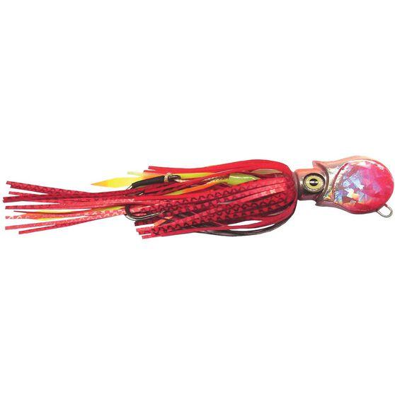 Gillies Ockta Slow Jig Lure 100g Red, Red, bcf_hi-res