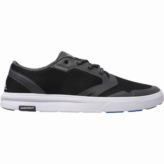 Quiksilver Men's Amphibian Plus Aqua Shoes, Black / Grey / White, bcf_hi-res