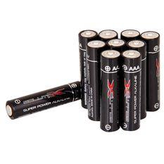Solution X AAA Alkaline Batteries, , bcf_hi-res