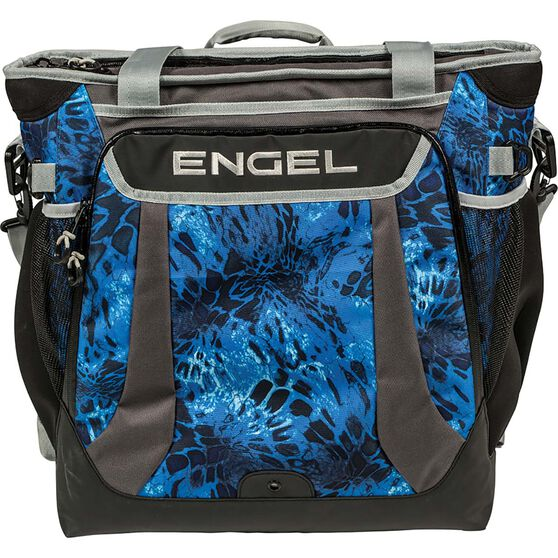 Engel Soft Cooler Backpack 22L Blue, Blue, bcf_hi-res
