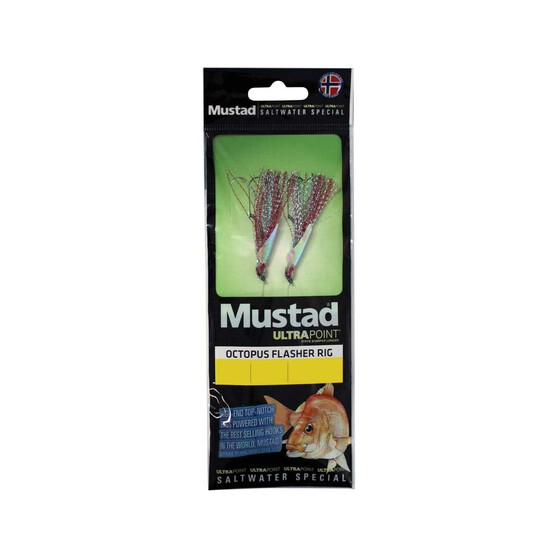 Mustad Ultra Point Octopus Flasher Rig, , bcf_hi-res