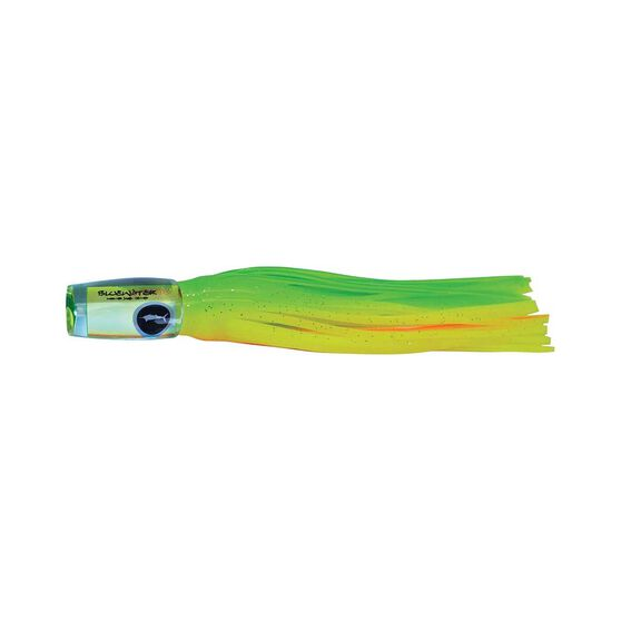 Classic Bluewater Pop Skirted Lure 6in Chartreuse Orange, Chartreuse Orange, bcf_hi-res