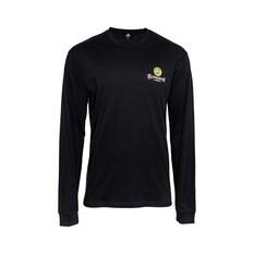 Bundaberg Rum Men's Long Sleeve Tee Black S, Black, bcf_hi-res