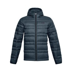 Under Armour Men's Hooded Down Jacket Mechanic Blue / Black S, , bcf_hi-res