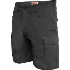 Hard Yakka Men's 3056 Shorts Charcoal 82R, Charcoal, bcf_hi-res