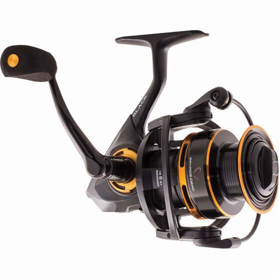 Savage Black Spinning Reel 2000, , bcf_hi-res