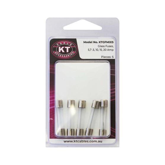 KT Assorted Glass Fuse 5 Pack, , bcf_hi-res