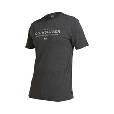 Quiksilver Waterman Men's Sea Mist Tee Charcoal Heather S, Charcoal Heather, bcf_hi-res