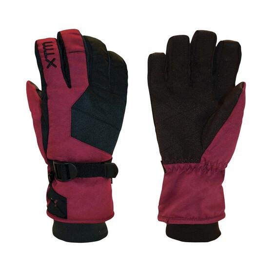 XTM Women's Les Triomphe Gloves, Burgundy, bcf_hi-res