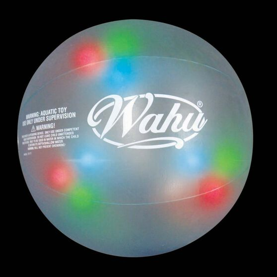 Wahu Inflatable Glo Beach Ball, , bcf_hi-res