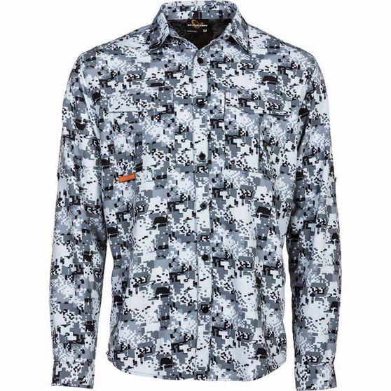 Savage Men's Digi Long Sleeve Fishing Shirt, , bcf_hi-res