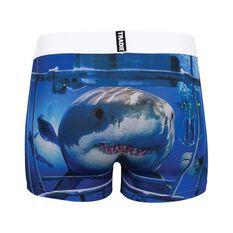 Tradie Men's Cage Dive Shark Trunks, , bcf_hi-res
